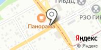 Илюша на карте