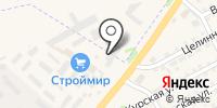 Катунь на карте