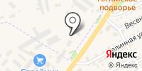 Эда на карте