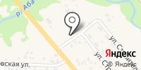 Амбар на карте