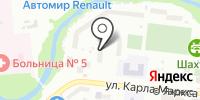 Стоматологическая поликлиника №6 на карте