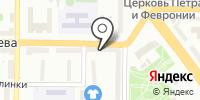 Видаль на карте