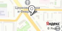 Южкузбассаудит на карте