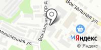 Квинтет на карте