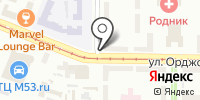 Семён на карте