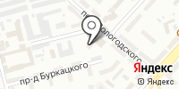 НДСК на карте