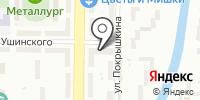 Шери на карте