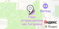 Городской парк им. Ю.А. Гагарина на карте