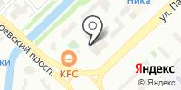 БАДЕН на карте
