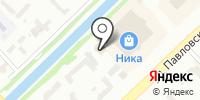 Роса 1 на карте