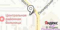 Бюро юридических услуг на карте