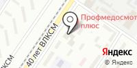 Вертуаль на карте