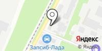 Кузбасс-Тара на карте