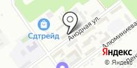 Никита Кожемяка на карте