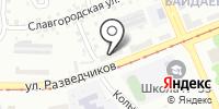 Изюми на карте