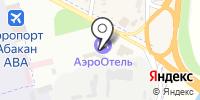 Кантегир на карте