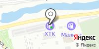 АЗС ХТК на карте