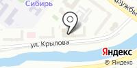 Саянплат на карте