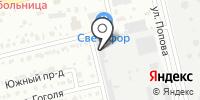 Хакас-Дизель на карте