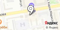 Сеть на карте