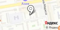 Эдо на карте