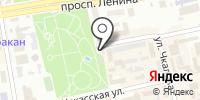 Орлёнок на карте