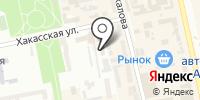 Магазин мебели и товаров для школьников на Хакасской на карте