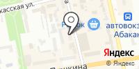 Зимушка на карте