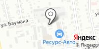 Авто-Хакасия на карте