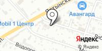 Бани в русском стиле на карте