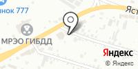 Авант на карте