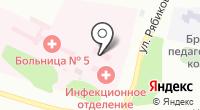 Городская больница №5 на карте
