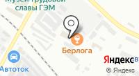 Ирэн на карте