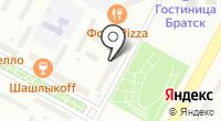 НЭП на карте
