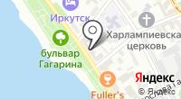 Байкальские макароны на карте
