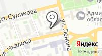 Личность на карте