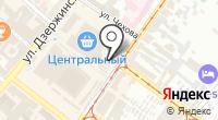 Портрет на карте