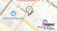Стикс на карте