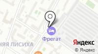 Полосатая Зебра на карте