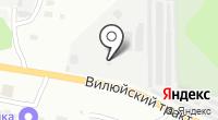 АЗС Парiтет на карте