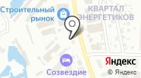 Магазин автоэмалей на ул. Жорницкого на карте