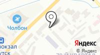 Далбар на карте