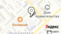 Сахаполимер на карте