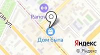 Сальвия на карте