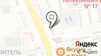 Лэри-Дент на карте