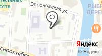 Избава на карте