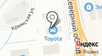Toyota Центр Калининград на карте