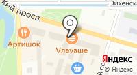Сеть обувных магазинов на карте