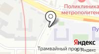 Ионик на карте