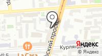 Юния на карте